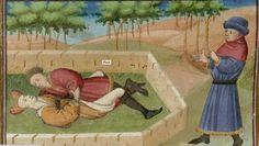 Boccaccio, Livre appelé Decameron, Français 239. 204v