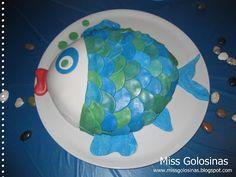 ...Miss Golosinas...: Unter-Wasser-Party # 2...Essen, Deko,... Fischtorte