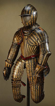 Armour that is said to belong to one of young sons of Zygmunt III Waza - most likely to Wladysław IV future king of Poland. Incrusted with gold and silver.