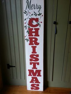 Merry Christmas sign.....great for the porch!