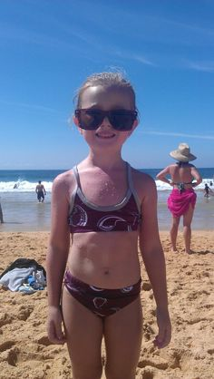 Aussie beachside moment. Photo sent in by Alysia Murray.