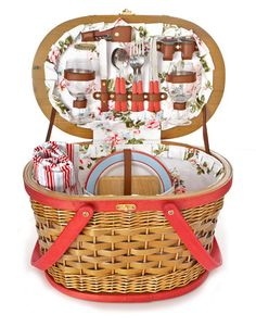 what a great picnic basket!