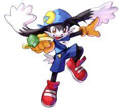 Klonoa from Namco × Capcom