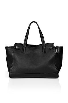 Salvatore Ferragamo Textured Leather Tote...very .........cleshay