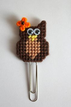 Owl Paper Clip, Owl Bookmark, Fall Owl, Owl Planner, Autumn, Back To School, Page Marker, Teacher Planner, Fall Decorations, Book Marks