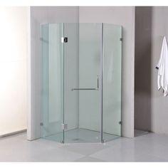 Frameless Glass Shower Enclosure 900x900x2000mm | Buy Shower Screens