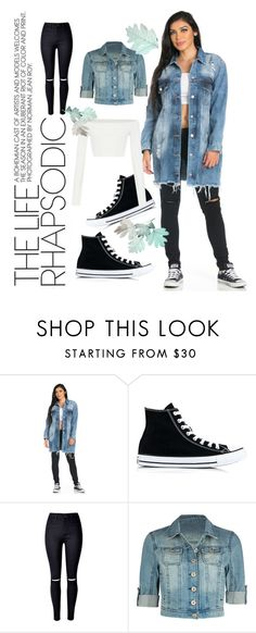"""Untitled #551"" by ellma94 ❤ liked on Polyvore featuring Converse, converse and jeans"