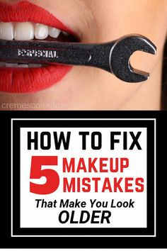 Makeup Mistakes Over 40 And How To Fix them…so you look younger! Foundation &… Makeup Mistakes Over 40 And How To Fix them…so you look younger! Foundation & eye makeup tips and tricks that will help you look younger. Younger Skin, Look Younger, Look Older, Shampoo For Curly Hair, Baking Soda Shampoo, Honey Shampoo, Dry Shampoo, Makeup Mistakes, Natural Hair Mask