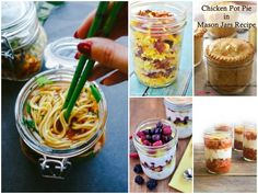 13 Healthy Mason Jar Meals That Aren't Salads