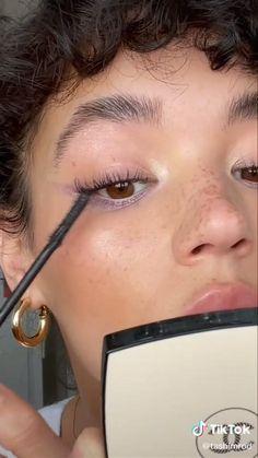 Edgy Makeup, Makeup Eye Looks, Cute Makeup, Pretty Makeup, Simple Makeup, Skin Makeup, Natural Makeup, Natural School Makeup, Glamour Makeup