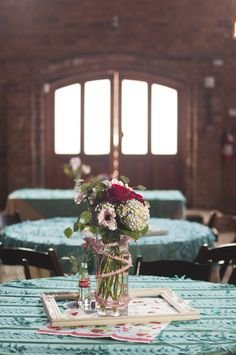 Photo by Marshall Graham Photography, Flowers by Renee Burroughs and Decor by Wedding Festivals.