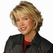 Deborah Norville, who hosts both Inside Edition and MSNBC's Deborah Norville Tonight, is leaving her cable show. Mom Hairstyles, Cute Hairstyles For Short Hair, Curled Hairstyles, Hairstyle Ideas, Short Hair With Layers, Layered Hair, Short Hair Cuts, Deborah Norville Hair, Wavy Hair