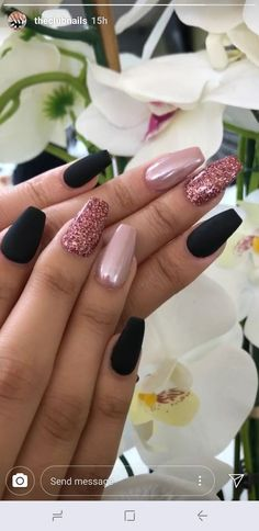 45 latest and hottest matte nail art designs ideas 2019 12 – JANDAJOSS.ME - 45 latest and hottest matte nail art designs ideas 2019 12 – JANDAJOSS.ME 45 latest and hottest matte nail art designs ideas 2019 12 – JANDAJOSS. Matte Nail Art, Best Acrylic Nails, Stylish Nails, Trendy Nails, Simple Nail Designs, Nail Art Designs, Nails Design, Pink Nails, My Nails