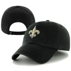 bda71204be7ae2 New Orleans Saints Adjustable Clean-Up Hat by '47 Brand $19.95. Sports  World Chicago · NFL Items