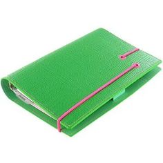 green apex filofax- Love this Color!