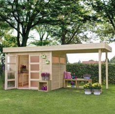 Casetta da giardino in legno pergolato esterni VERMONT