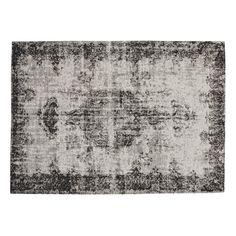 Vloerkleed, zwart, 200 x 290 cm, VILLANDRY
