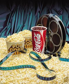 Coke and Popcorn, been advertised in movie theaters as long back as I can remember. Watching a movie is fun, but watching a movie with popcorn and coke is even better.