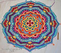 348 Beste Afbeeldingen Van Crochet Bloemenmandalas In 2019