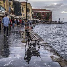 Chania town, Crete island, Greece ...#chania #crete #greece . Η ζωή αλλάζει. Αυτό είναι το μάθημα που θα μας διδάξουν οι εποχές... P.Coehlo.