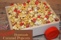 The Best Homemade Caramel Corn | AllFreeCopycatRecipes.com