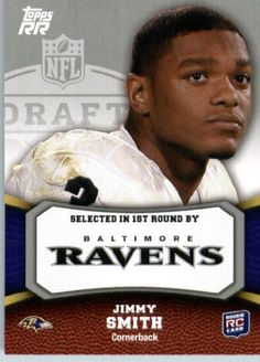 2011 Topps Rising Rookies Football Card # 193 Jimmy Smith RC - Baltimore Ravens (RC - Rookie Card) NFL Trading Card Protective Screwdown Display Case by Topps. $0.01. 2011 Topps Rising Rookies Football Card # 193 Jimmy Smith RC - Baltimore Ravens (RC - Rookie Card) NFL Trading Card Protective Screwdown Display Case