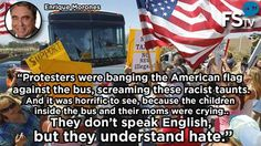 Pay Attention==They don't speak English but they understand HATE.