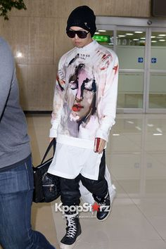G-Dragon Airport Style! Returns to Korea on April 24, 2013