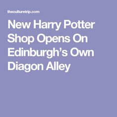Stock up on Potter merchandise and explore all you need to know about Diagon House, the magical new Harry Potter shop on Edinburgh's own Diagon Alley. Edinburgh Uk, Harry Potter Shop, Diagon Alley, Shopping, Travel, United Kingdom, Trips, Traveling, Tourism