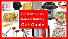 Click to see my natural holiday gift guide