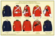 WO, NCO's and OR 'Patrol Jackets' & 'Service Frocks'