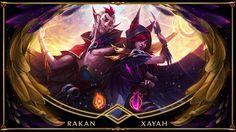 Xayah and Rakan by emmakof