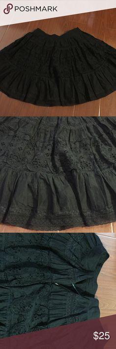 Zara detailed skirt Zara detailed skirt. Multiple layers and zipper side. NO TRADES Zara Skirts Mini