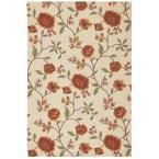 Vista Ivory 4 ft. x 6 ft. Area Rug