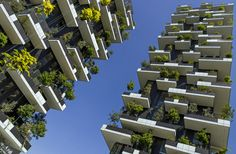 """Stefano Boeri's """"vertical forest"""" nears completion in Milan, Italy"""