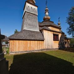The Greek Catholic wooden church of St Michael the Archangel (Chrám sv. Michala Archanjela) was included in along with seven wooden churches of the Slovak part of Carpathian Mountain Area, on the UNESCO Word Heritage List. Carpathian Mountains, St Michael, Homeland, Catholic, Saints, Castle, Country, Gallery, Building