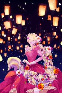 "Rapunzel Dancing in the Lights ( Tangled ) By: ""±13"""