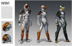 ArtStation - NASA 2222, Oscar Cafaro