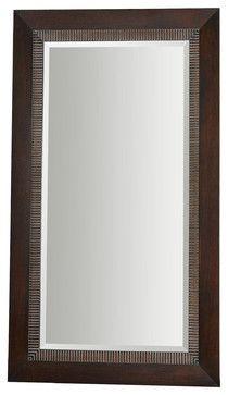 Grace Feyock Julius Oversized Dark Bronze Floor Mirror X-54241 contemporary-floor-mirrors