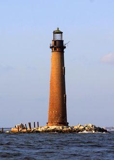 Sand Island Lighthouse, Alabama,US