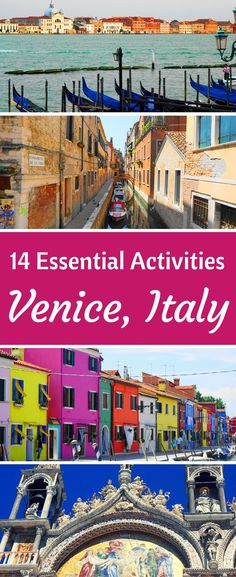 Discover the best tourist attractions in Venice, Italy! Catch the main sights and then get off the beaten path with this guide to Venice! Travel in Europe. #italyplanning