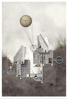 'Speculation' Alexander Wiegering 2013. Mixed Media.