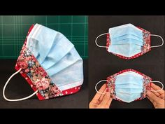 Baby Sewing Projects, Sewing Projects For Beginners, Sewing Hacks, Sewing Tutorials, Sewing Crafts, Easy Face Masks, Diy Face Mask, Diy Accessoires, Sewing Aprons