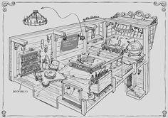 more quarter deck/cabin layout