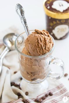 Halo Top Chocolate Mocha Chip Delight!