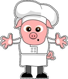 """No puede falar un cocinero de lo más """"jamonero"""""""