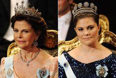 A rainha Sofia levou a tiara dos nove picos e o colar Riviere
