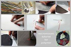 micromosaic tutorial for polymer by AleksandraMicic, via Flickr