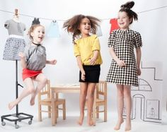 Mix and match fashion for little girls from Little Troll