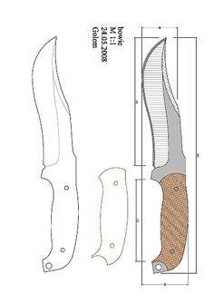 bckk.pdf — OneDrive Cool Knives, Knives And Swords, Knife Shapes, Knife Drawing, Knife Template, Knife Patterns, Diy Knife, Handmade Knives, Tactical Knives